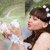 Свадебная фотосъемка с голубями