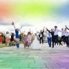 свадебная прогулка в парке Победы